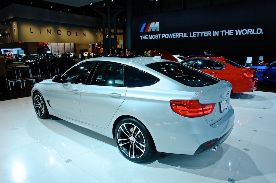 2014 BMW 3-Series GT NYIAS Rear 7-8 Left