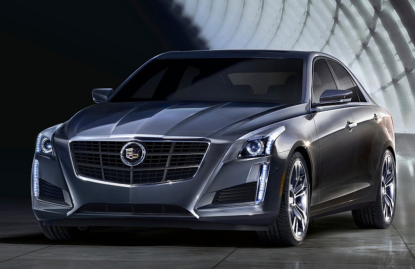 2014 Cadillac CTS Front 3-4 Left