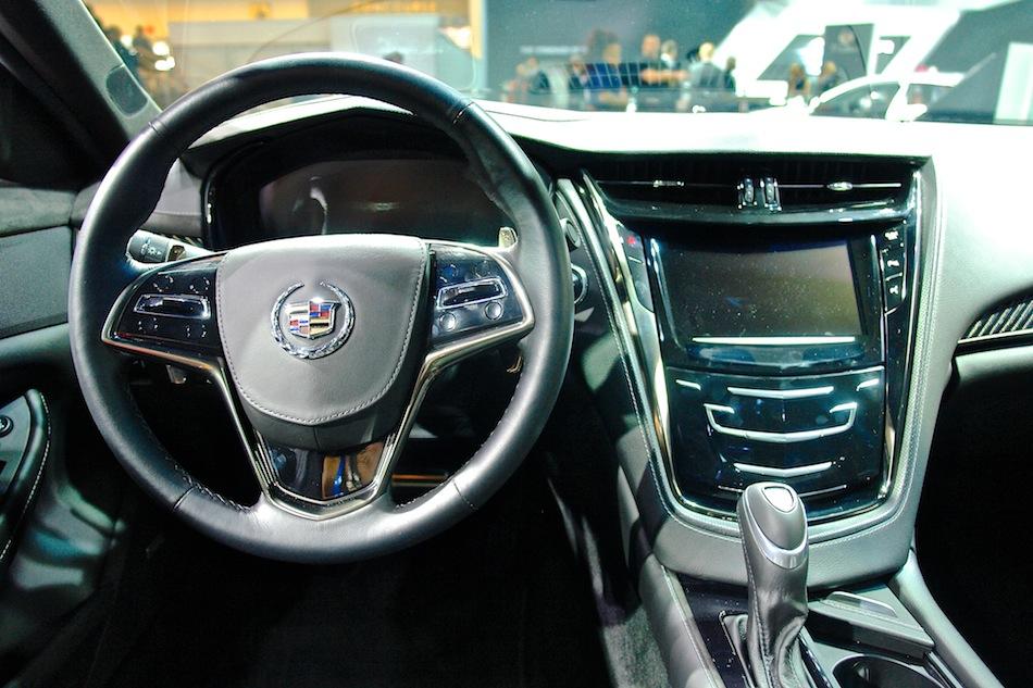 2014 Cadillac Cts Front Dashboard
