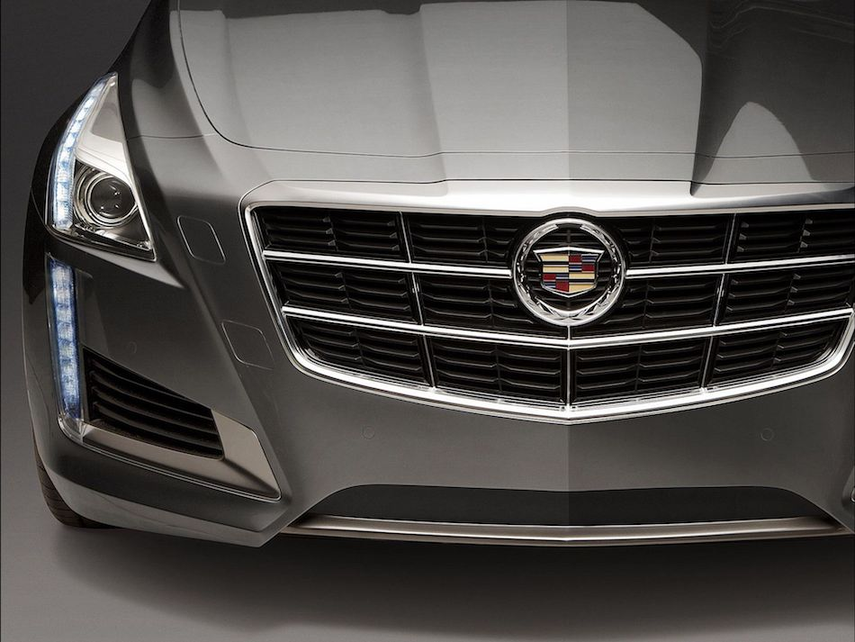 2014 Cadillac CTS Front Grille Detail