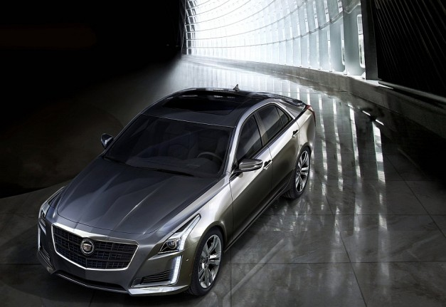 2013 New York: Hey Europe and Japan, the 2014 Cadillac CTS is knockin' and it wants to play w/ video