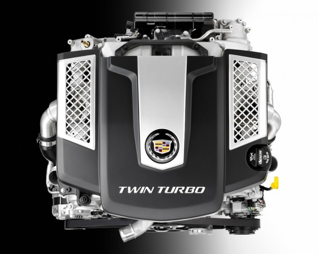 Video: Cadillac announces all-new twin-turbo V6 and eight-speed auto, to debut in 2014 CTS at NY