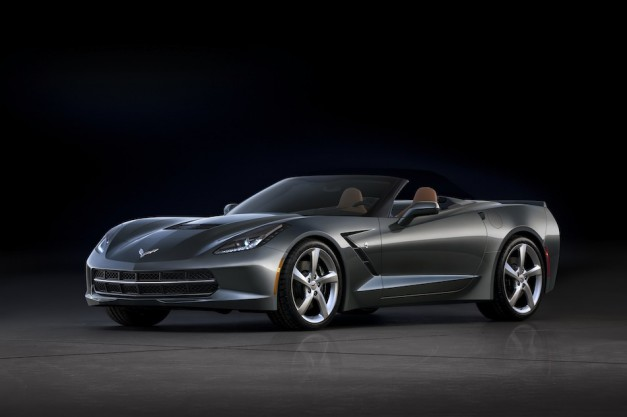 BREAKING: Chevrolet dumps official photos of all-new Corvette Stingray convertible before Geneva