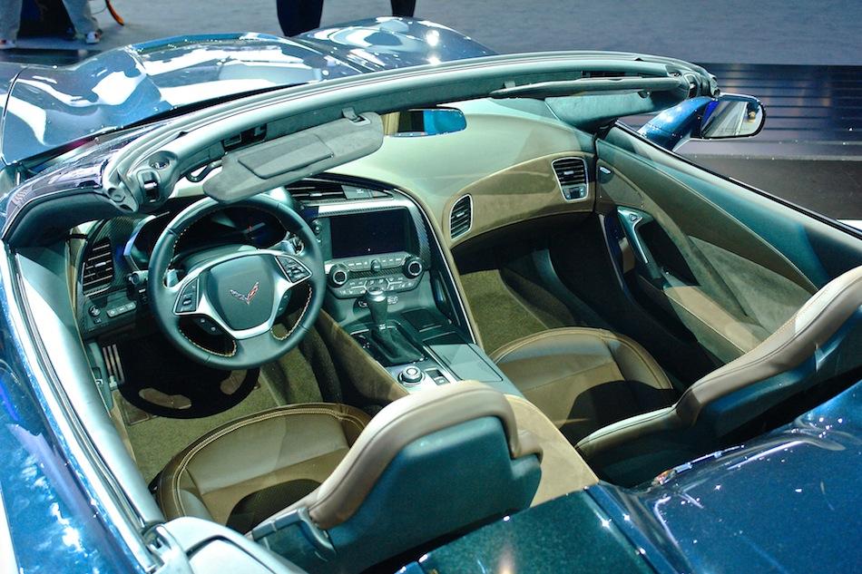 interior 2014 chevrolet corvette stingray convertible nyias interior - Corvette 2013 Stingray Interior