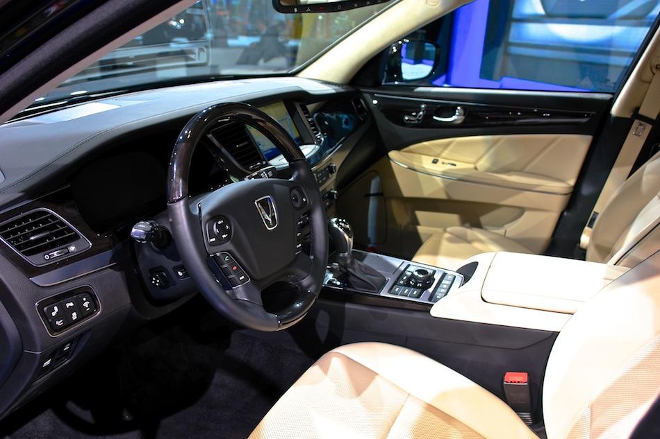 2014 Hyundai Equus Nyias Interior Front Egmcartech