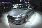 2014 Jaguar XJR NYIAS Front 3-4 Left