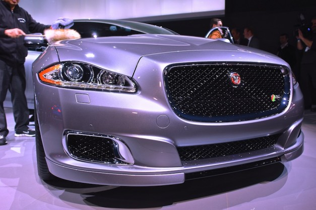 2014 Jaguar XJR NYIAS Front Close Up