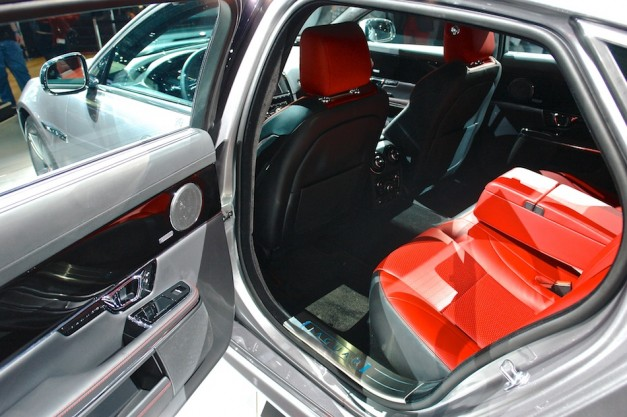2014 Jaguar XJR NYIAS Rear Interior
