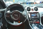2014 Jaguar XJR NYIAS Steering Wheel