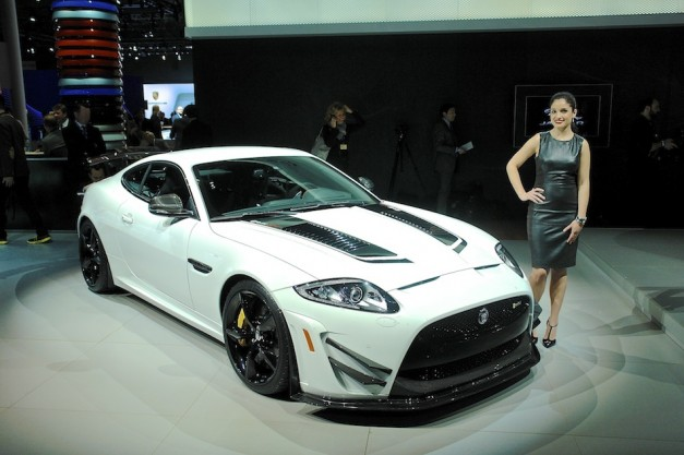 2014 Jaguar XKR S GT NYIAS 627x417 Report: Jaguar considering uber performance F Type to follow the way of the XKR S GT