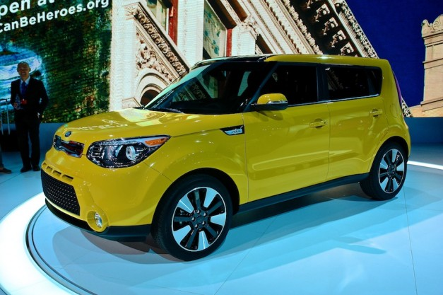 2013 New York: The 2014 Kia Soul receives a comprehensive rework, promises improved handling and performance