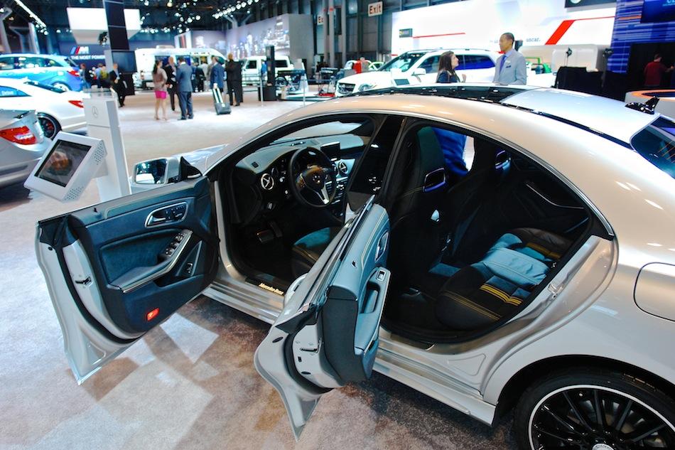 Image gallery 2014 mercedes doors for Mercedes benz cla 2 door