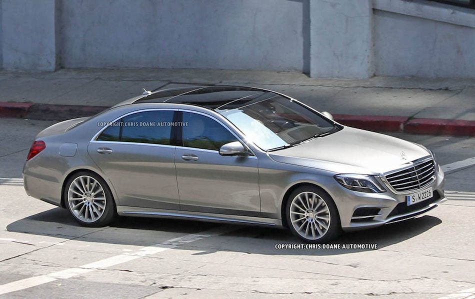 2014 Mercedes-Benz S-Class Spy Shots