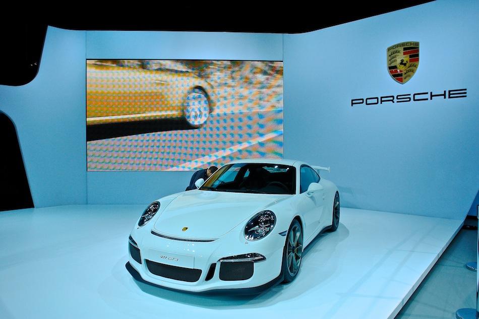 2014 Porsche 911 GT3 NYIAS Front