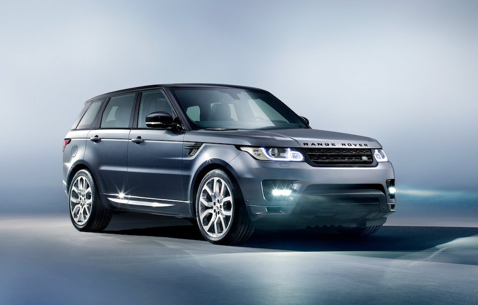 2014 Range Rover Sport Front 3:4 Right Studio