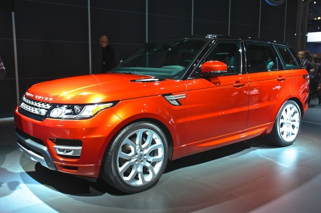 2014 Range Rover Sport NYIAS 627x417 Report: Land Rover to use all aluminum unibodies on upcoming models, LR4 successor revives Discovery name, diesel hybrid Range Rover on the way