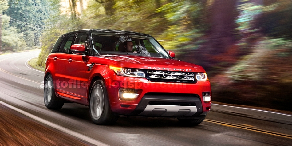 2014 Range Rover Sport Photo Leak