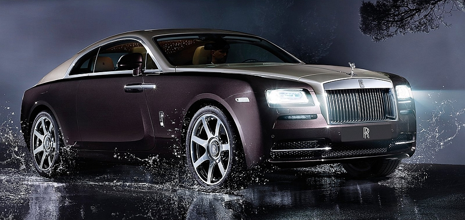 2014 Rolls-Royce Wraith Coupe Front 3-4 Right