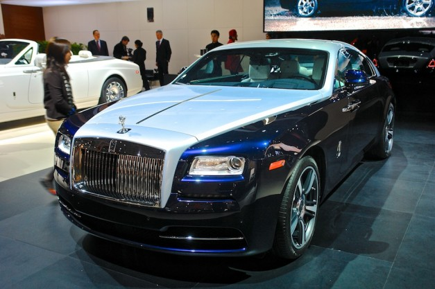 2013 New York: The 2014 Rolls-Royce Wraith is one classy and suave shooting brake