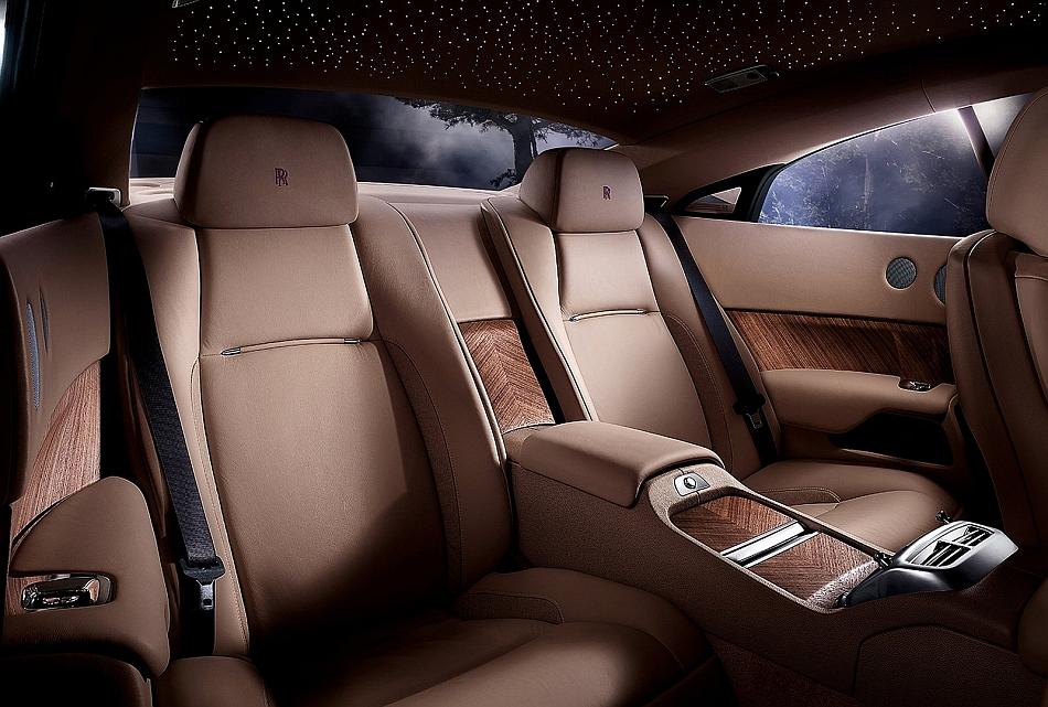 2014 Rolls Royce Wraith Coupe Rear Interior Egmcartech