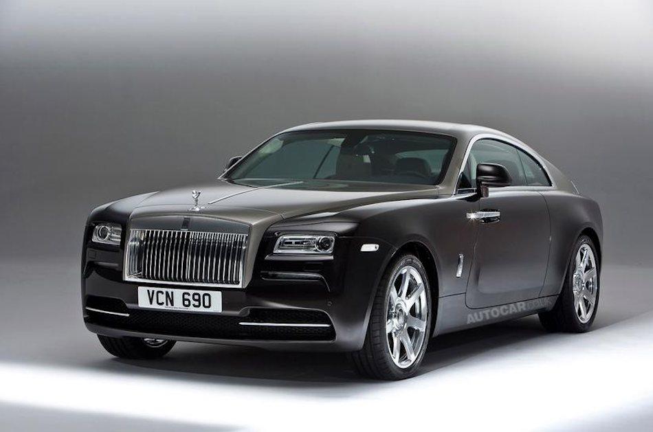 2014 Rolls-Royce Wraith Leak Front 3-4 Left