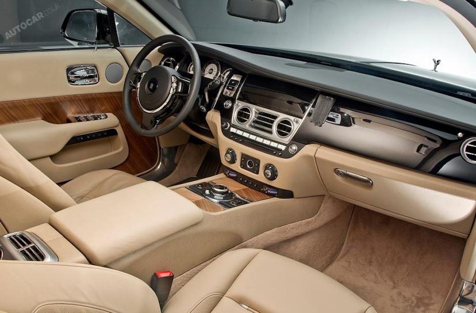 2014 Rolls Royce Wraith Leak Interior Front Egmcartech