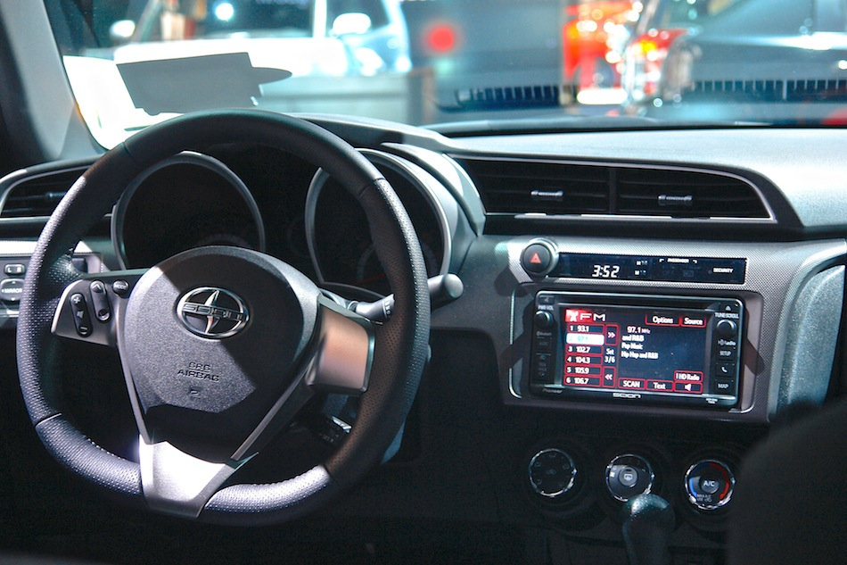 Scion Tc Interior Dashboard