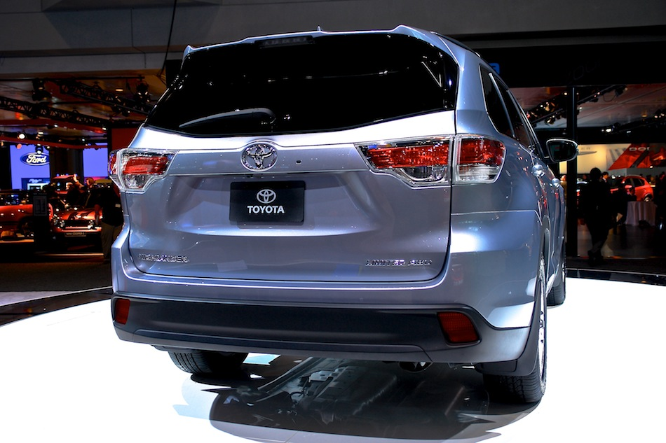 2014 Toyota Highlander NYIAS Rear Close Up