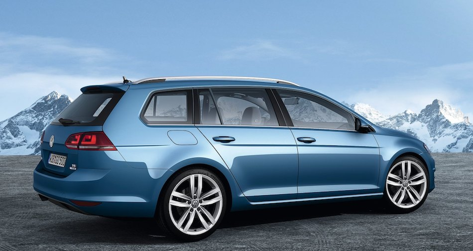 2014 volkswagen golf variant rear 7 8 right egmcartech