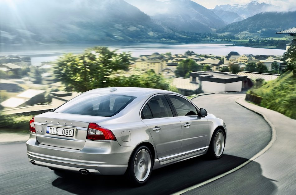 Volvo S80 2014 Wallpaper 2014 Volvo S80 Rear