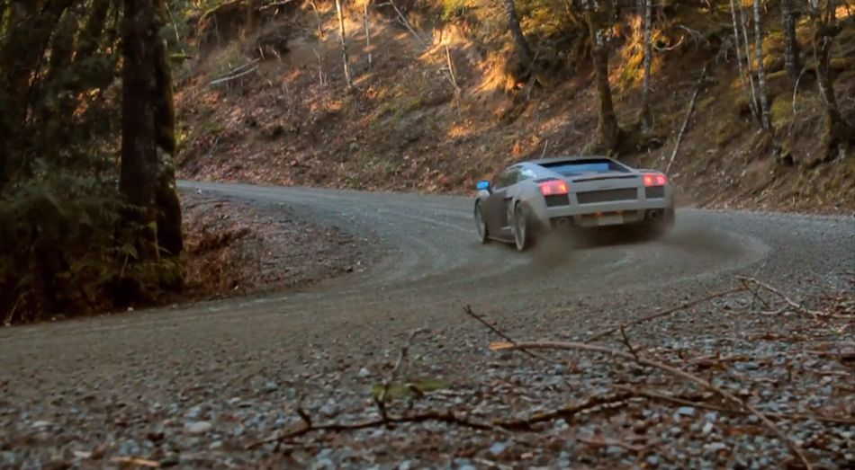 Lamborghini Gallardo Off-Roading Video
