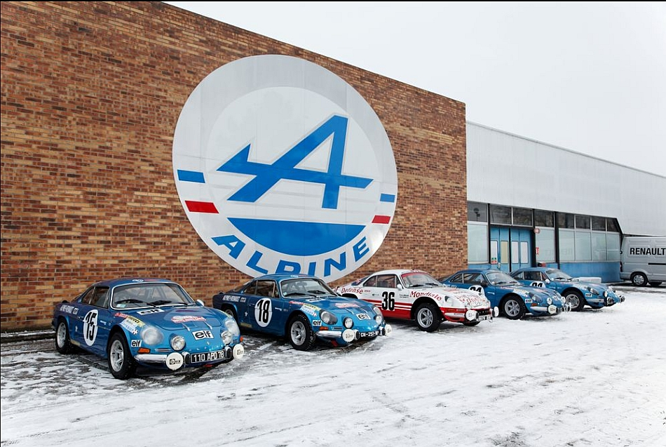 1973 Renault Alpine A110 Rally Originals