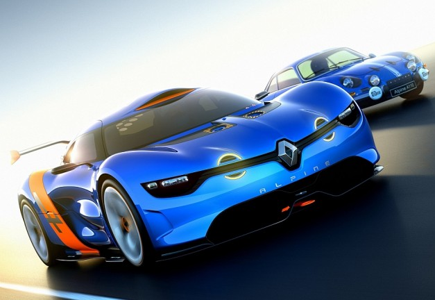 2012 Alpine A110 50 Concept 627x432 Report: Renault may build new Alpine A110 coupe on Alfa 4C chassis, and why you should be excited w/ video