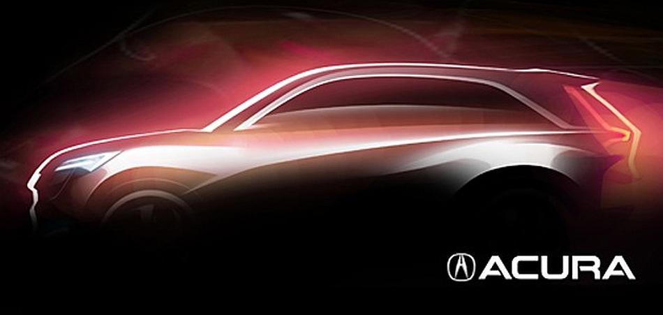 2013 Acura Teaser Shanghai Motor Show