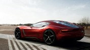 2013 Alfa Romeo 6C Coupe Concept Rear 7-8 Left