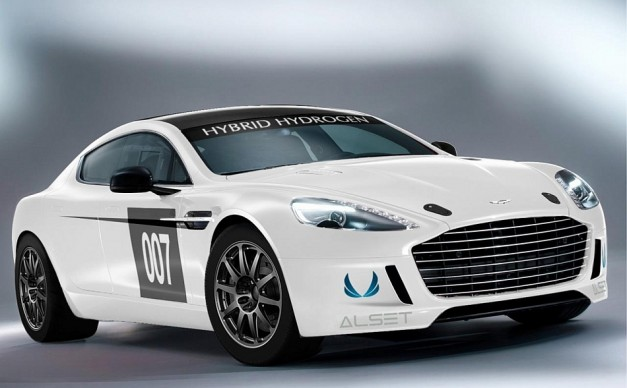 2013 Aston Martin Hydrogen Hybrid Rapide S 627x388 Aston Martin to be the first hydrogen car to race at the 24 Hour Nürburgring to help pioneer zero emissions motorsports