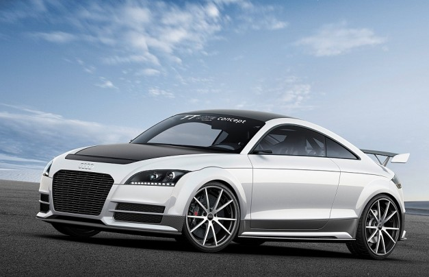 Audi unveils 2013 TT Ultra Quattro Concept at the 2013 Worthersee Festival that's lighter and more potent