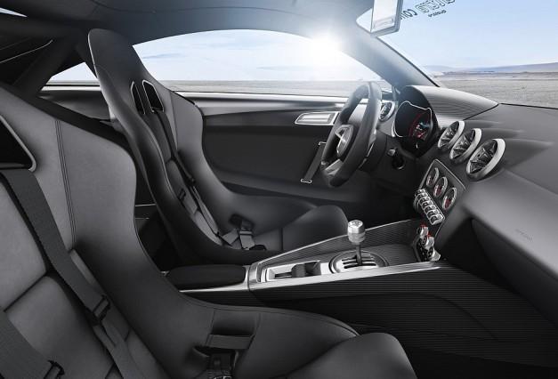 2013 Audi TT Ultra Quattro Concept Driver Seat