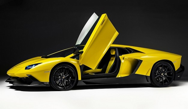 2013 Shanghai: Lamborghini unveils the special edition Aventador LP 720-4 50° Anniversario at Shanghai to celebrate 50th birthday