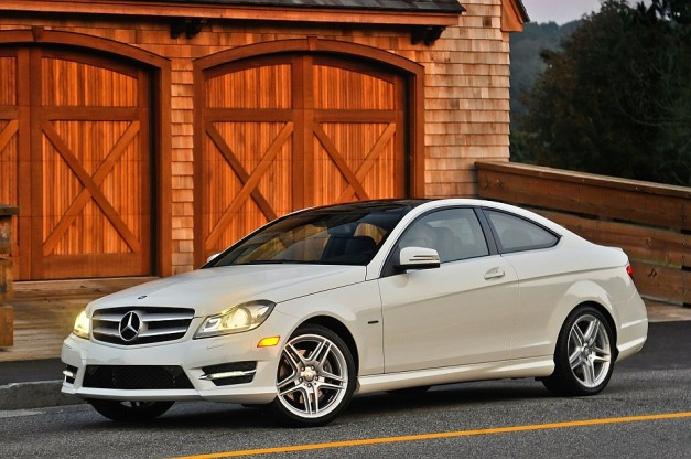 2013 Mercedes Benz C Class Coupe 627x416 Report: Next generation Mercedes Benz C Class to get convertible, hybrid, and diesel options