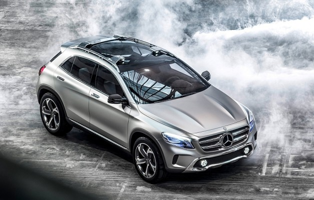 BREAKING: Mercedes-Benz unveils their all-new Concept GLA ahead of its Shanghai debut