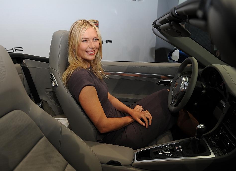 2013 Porsche Ag With Maria Sharapova In 911 Egmcartech