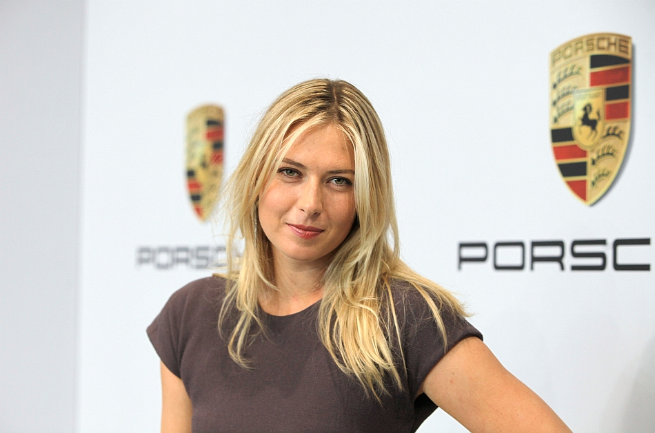 2013 Porsche AG with Maria Sharapova