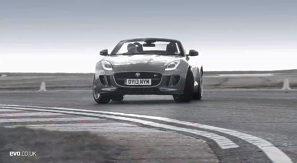 2013 Tiff Needell Tests Porsche 911 and Jaguar F-Type Back To Back