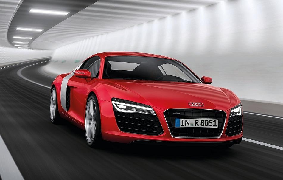 Red Audi R8