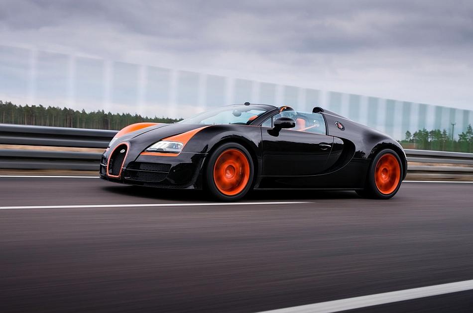 2014 Bugatti Veyron Grand Sport Vitesse Front 7 8 Left