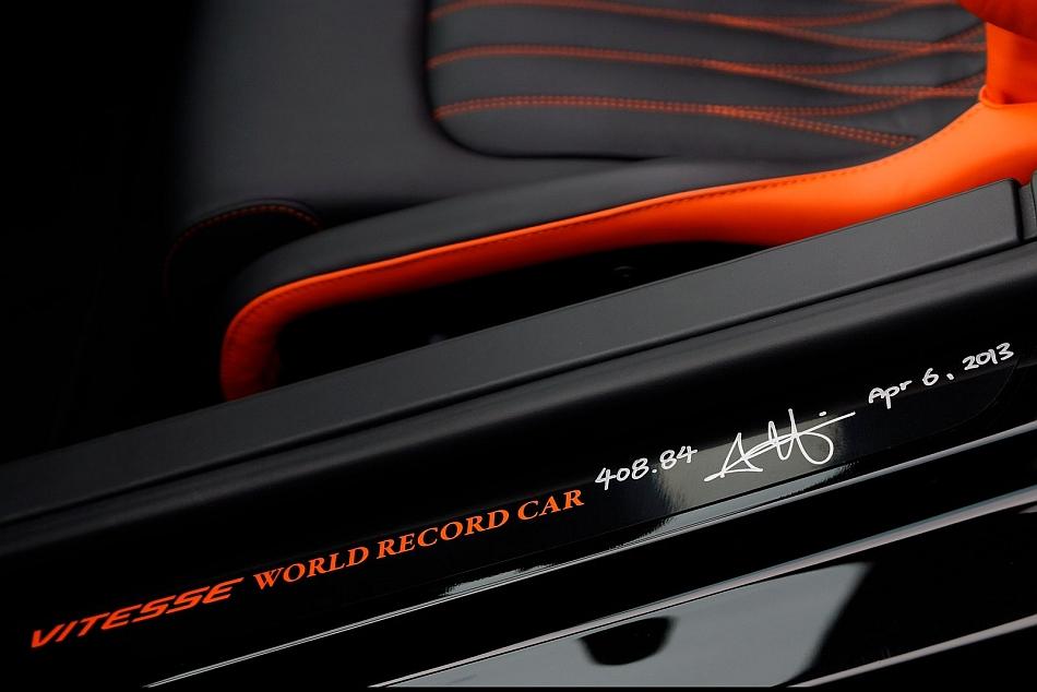 2014 Bugatti Veyron Grand Sport Vitesse Record Signature