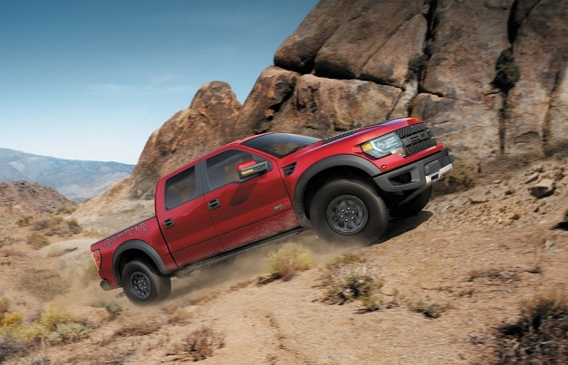 2014 Ford F150 SVT Raptor Special Edition 627x403 Ford unveils special edition F150 SVT Raptor for 2014 called…the Ford F150 SVT Raptor Special Edition