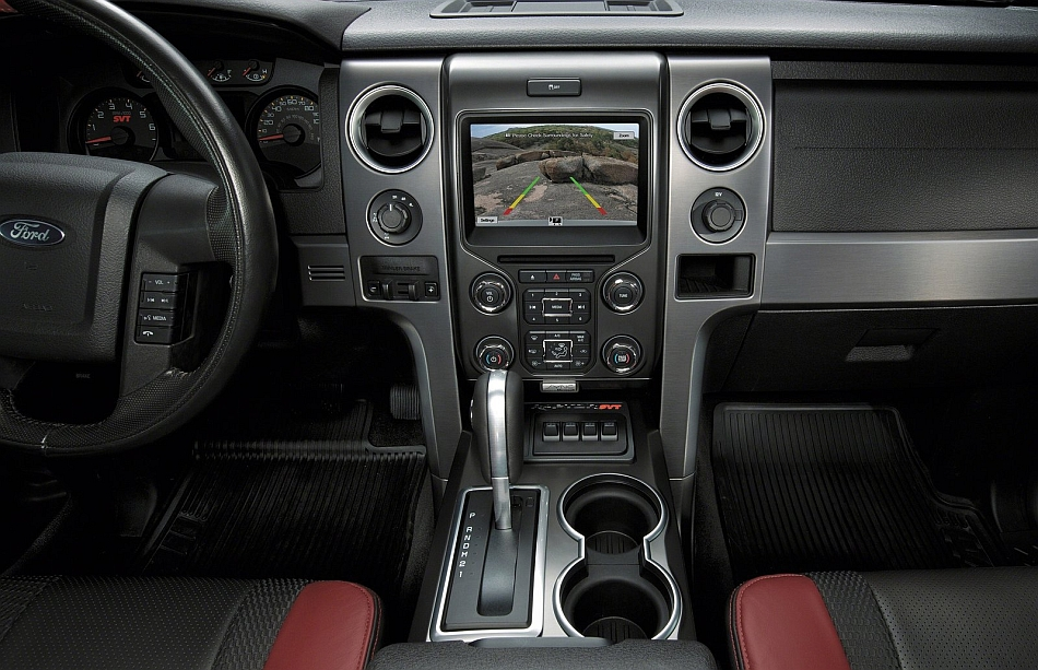 2014 Ford F150 SVT Raptor Special Edition Right Side Dashboard