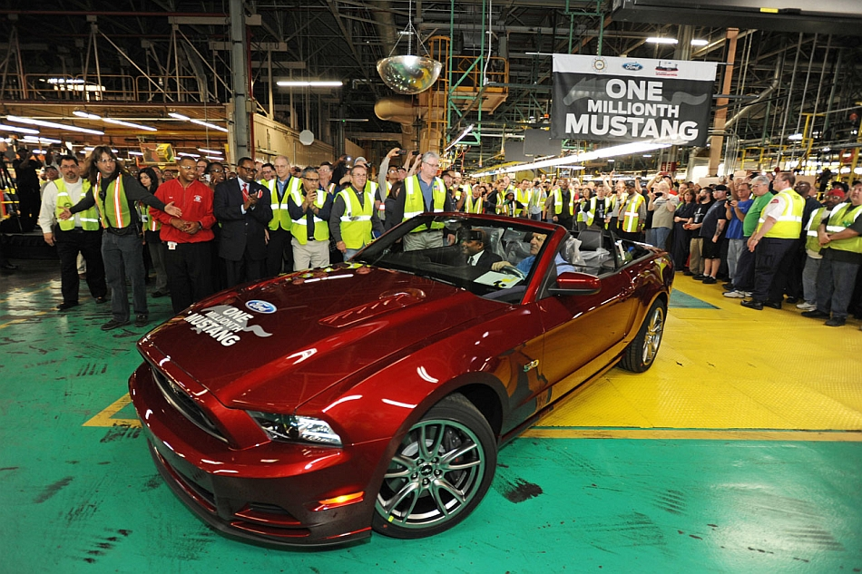 2014 Ford Mustang One Millionth at Flat Rock